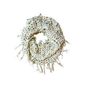 Steve Madden soft crochet style infinity scarf